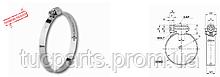 Хомут А 2 типу оцинк. Нового зразка 60-80 в пачці 50шт