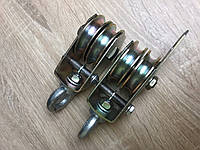 Полиспаст 2-х роликовый Ø60мм (комплект из двух блоков)