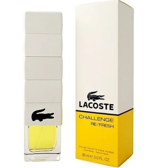 Мужская туалетная вода Lacoste Challenge Re Fresh (Лакост Челлендж Ре Фреш) 90 мл