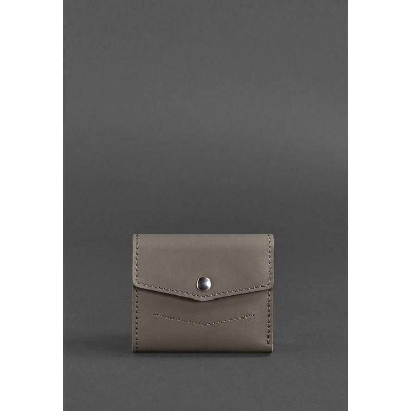 Женский кожаный кошелек 2.1 темно-бежевый