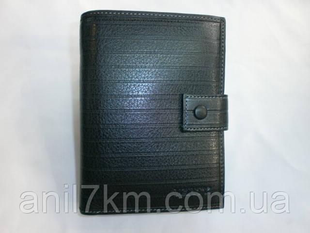 Мужской кожаный кошелёк фирмы Verity для денег и документов