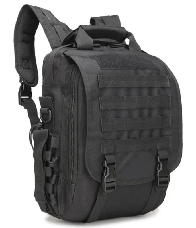 Сумка-рюкзак тактическая,городская,деловая Tactic Чёрная