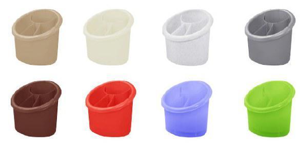 Лоток для столовых приборов Алеана  15,3х12 см h15,5 см полипропилен (167094/308392)