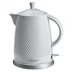 Чайник Maestro  белый 1,5л керамика (069 MR)