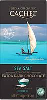 Бельгийский шоколад органический 70% Cachet Sea Salt 100 г