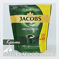 Порошковый кофе Якобс Монарх 400 грамм Крема, фото 1