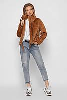 Женская демисезонная вельветовая куртка