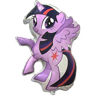 Фольгированный шар ФМ Пони фиолетовый