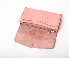 Кожаный клатч Nice женский Розовый, фото 2