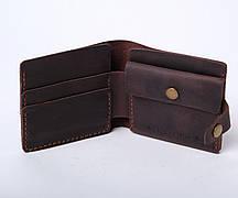 Шкіряний гаманець ручної роботи Gazda
