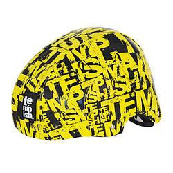 Захисний шолом для спорту Tempish Crack yellow