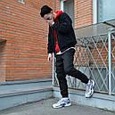 Зимние штаны карго на флисе мужские черные бренд ТУР модель Грут (Groot), фото 6