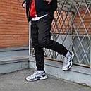Зимние штаны карго на флисе мужские черные бренд ТУР модель Грут (Groot), фото 8
