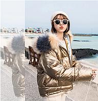 Пуховик куртка женская оригинал фабричный Китай, фото 1