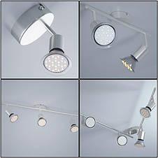 Светодиодная настенная, потолочная лампа Amaryllis 3-ARM, фото 3