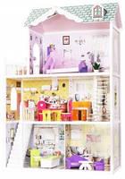 Игровой деревянный кукольный домик  EcoToys Beverly Hills, фото 1