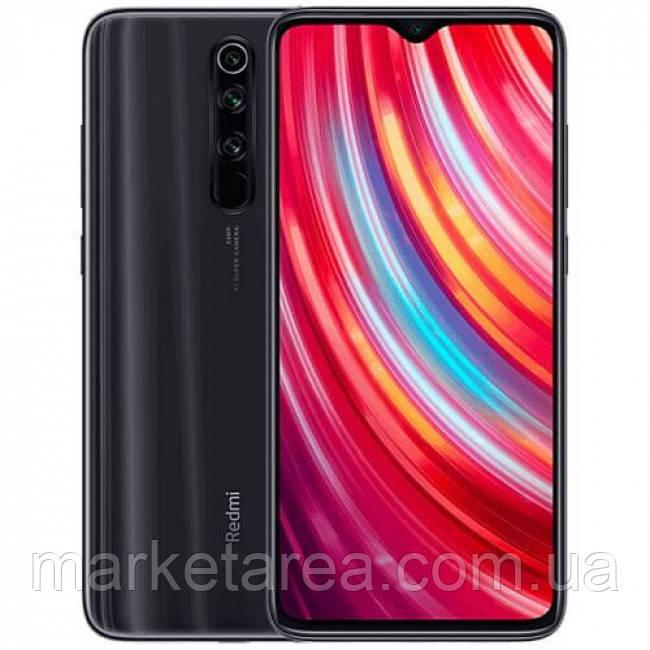 Смартфон со сканером отпечатка пальца и нфс модулем Xiaomi Redmi NOTE 8 PRO black Global Version 6/128Gb