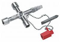 """Ключ универсальный для распределительных шкафов """"BUILDING"""" NWS  2005-2-SB (Германия)"""