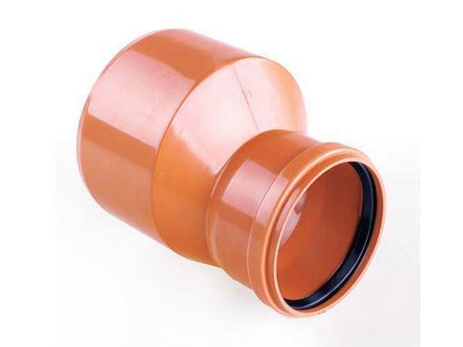 Редукция ПВХ d 200/160 мм, для наружной безнапорной канализации