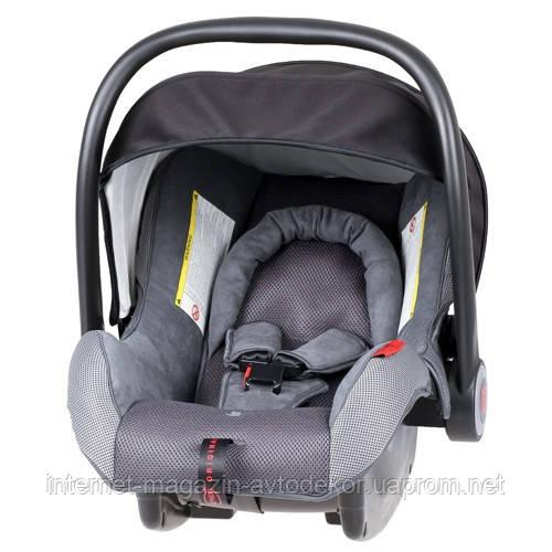Детское автокресло HEYNER Super Protect Comfort Pantera, цвет серый.