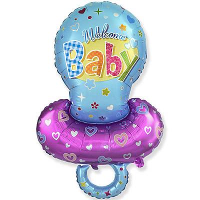 Фольгированный шар ФМ Соска для мальчика