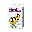 Вагинальные шарики - Golden Balls, two vibrators, multispeed, 2AA batteries,ABS, фото 8