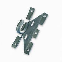 Крюк под бандажную ленту (оцинкованный) универсальный на столб или стену КБЛУ Билмакс