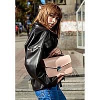 Женская кожаная сумка-кроссбоди Lola розовая, фото 1
