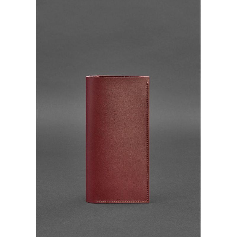 Кожаный тревел-кейс 3.1 бордовый Краст