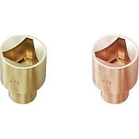 """Головка тригранна іскробезпечний 1/2"""" 24 мм GARWIN (GSS-KB24)"""