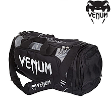 Сумка Venum Trainer Lite Sport Bag Black Grey