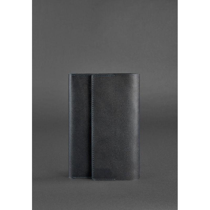 Кожаный блокнот (Софт-бук) 5.1 черный