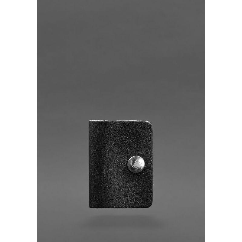 Кожаный холдер для наушников 2.0 Черный