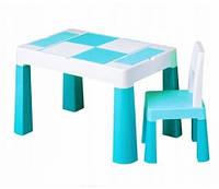 910 Комплект детской мебели Tega Baby MULTIFUN (стол + стульчик) (бирюзовый(Turkus)), фото 1