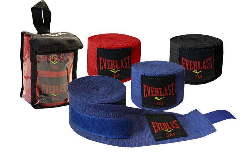 Бинты боксерские (2шт) хлопок ELAST  (l-4м, цвета в ассортименте)