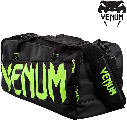 Сумка Venum Sparring Sport Bag Black Yellow, фото 2
