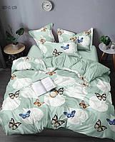 3D Полуторное постельное белье Amika бабочки