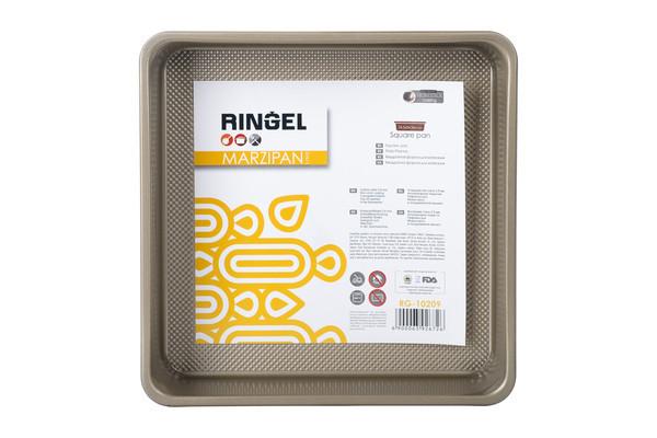 Форма для випічки Ringel Marzipan квадратна 24,5х24,5 см h6 см сталь вуглецева (10209 RG)