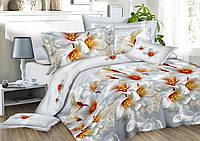3D Полуторное постельное белье Amika весна