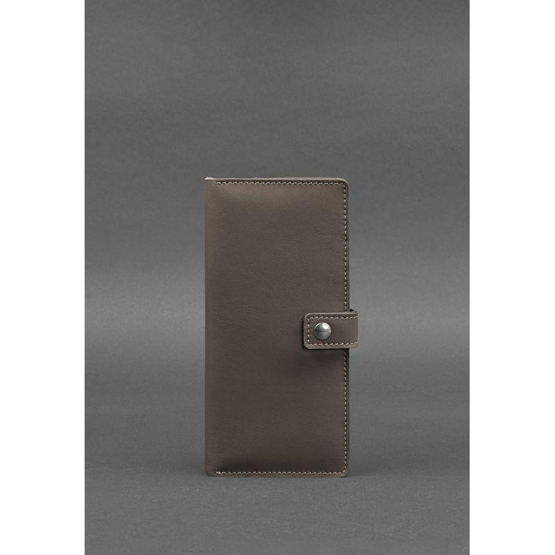 Кожаный тревел-кейс (органайзер для документов) 6.0 темно-бежевый