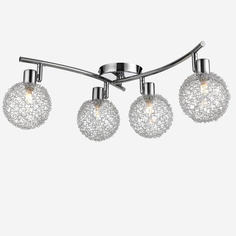Светодиодная потолочная лампа Calla 4-ARMS LED