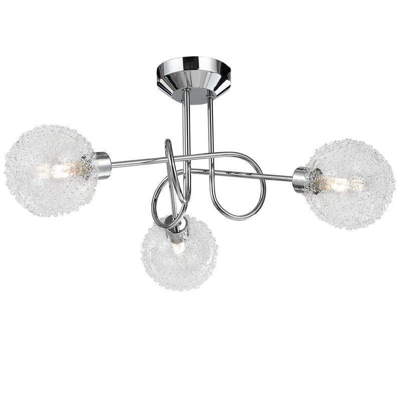 Светодиодная потолочная лампа Calla 3-ARM LED