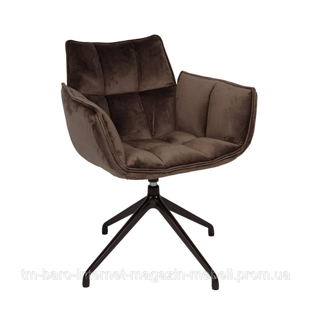 Кресло поворотное Chardonne (Шардонне), антрацит текстиль (Бесплатная доставка), Nicolas