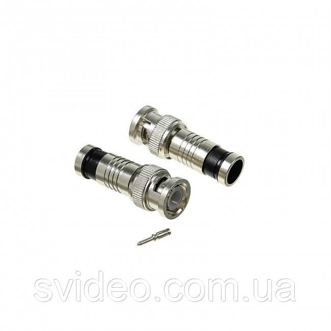 Разъем BNC-Comp-B компресионный под кабель RG-59