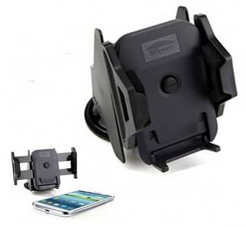 Автодержатель для смартфона 3 - 5.3 дюйма на торпеду Kropsson Aero Черный