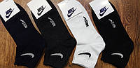 """Жіночі або підліткові стрейч.шкарпетки в стилі """"Nike A""""Туреччина(36-41),середні, фото 1"""