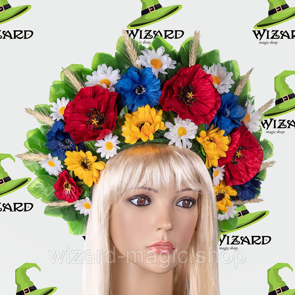 Украинский венок кокошник Марьяна №1