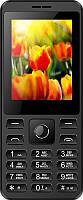 Мобильный телефон Nomi i249 Dual Sim Black, 2.4 (320х240) TN / клавиатурный моноблок / ОЗУ 32 МБ / 32 МБ встроенной + microSD до 32 ГБ / камера 0.08