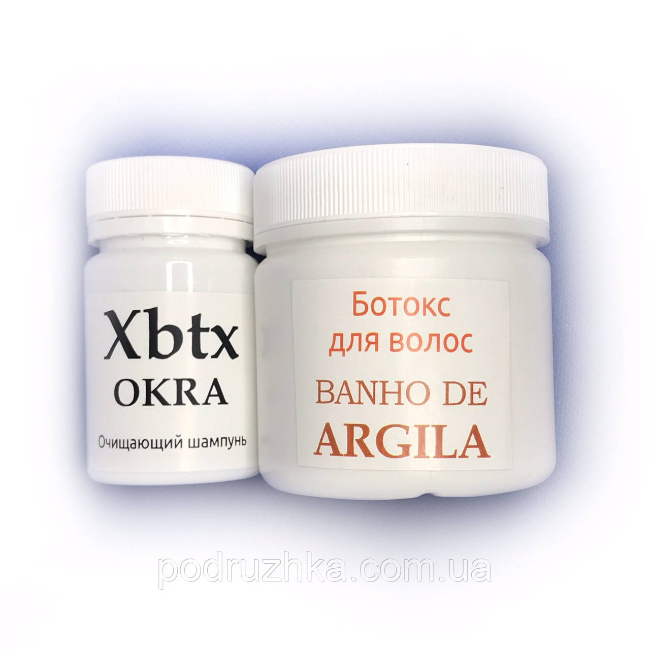 Набор ботокс для волос Xmix Banho de Argila 100/200 г