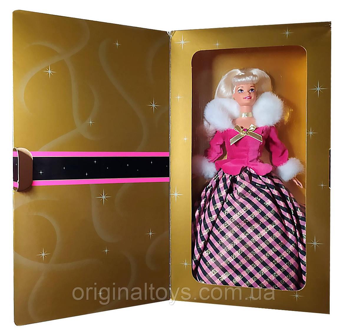 Колекційна лялька Барбі Зимова Рапсодія Barbie Winter Rhapsody Avon Exclusive 1996 Mattel 16353